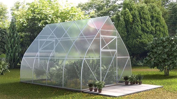 The Ridge or Furrow Greenhouse